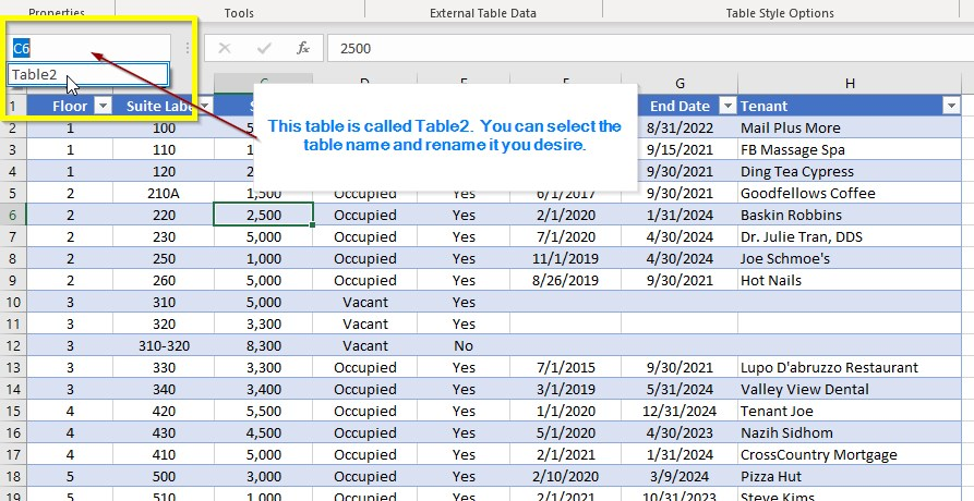 How to make stacking plan in excel